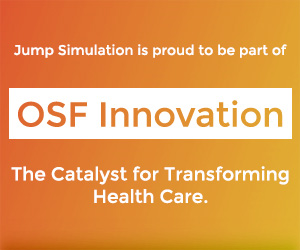 Jump Simulation is proud to be part of OSF Innovation